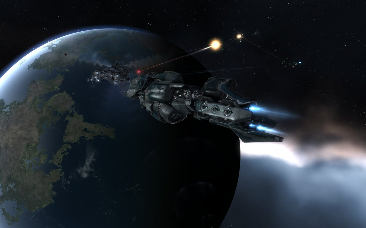 video_games_outer_space_planets_EVE_Online_Drake_Proteus_1280x800