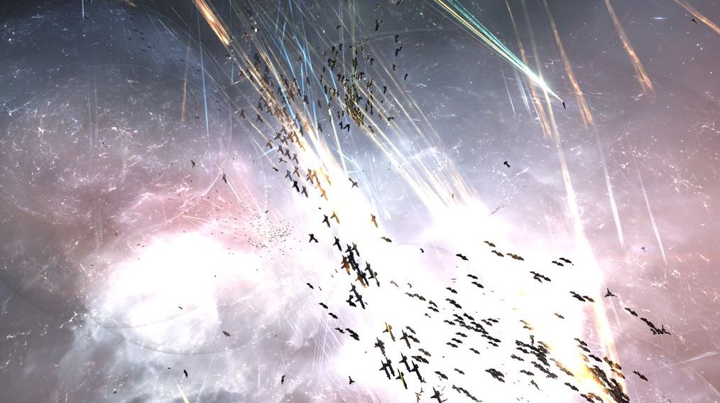 EVE Online J-GAMP M-OEE8 battle 10
