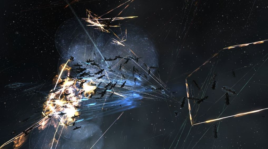 EVE Online J-GAMP M-OEE8 battle 11