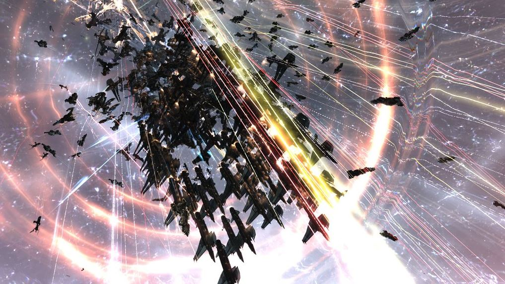 EVE Online J-GAMP M-OEE8 battle 3