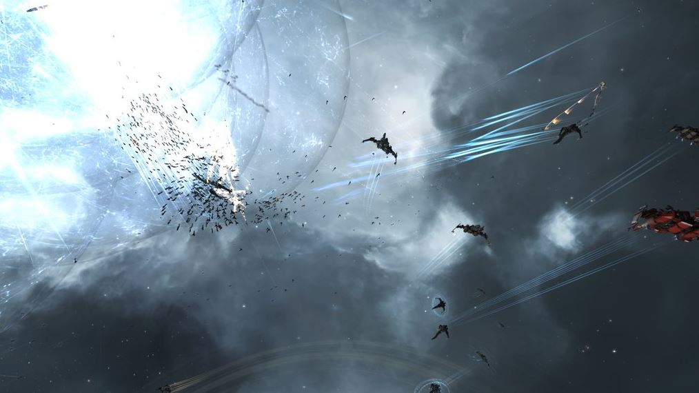 EVE Online J-GAMP M-OEE8 battle 8