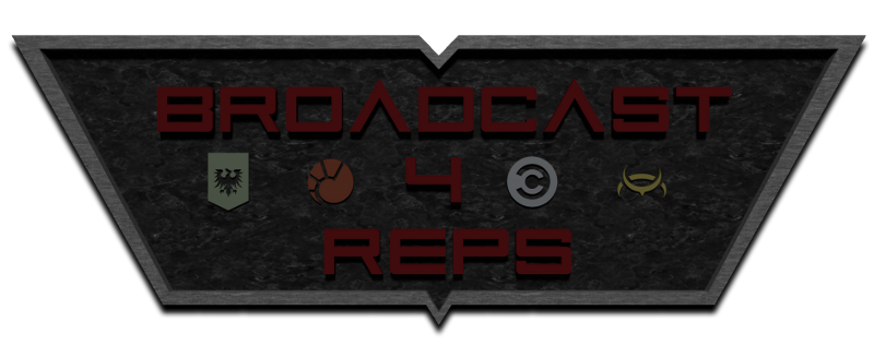 broadcast 4 reps