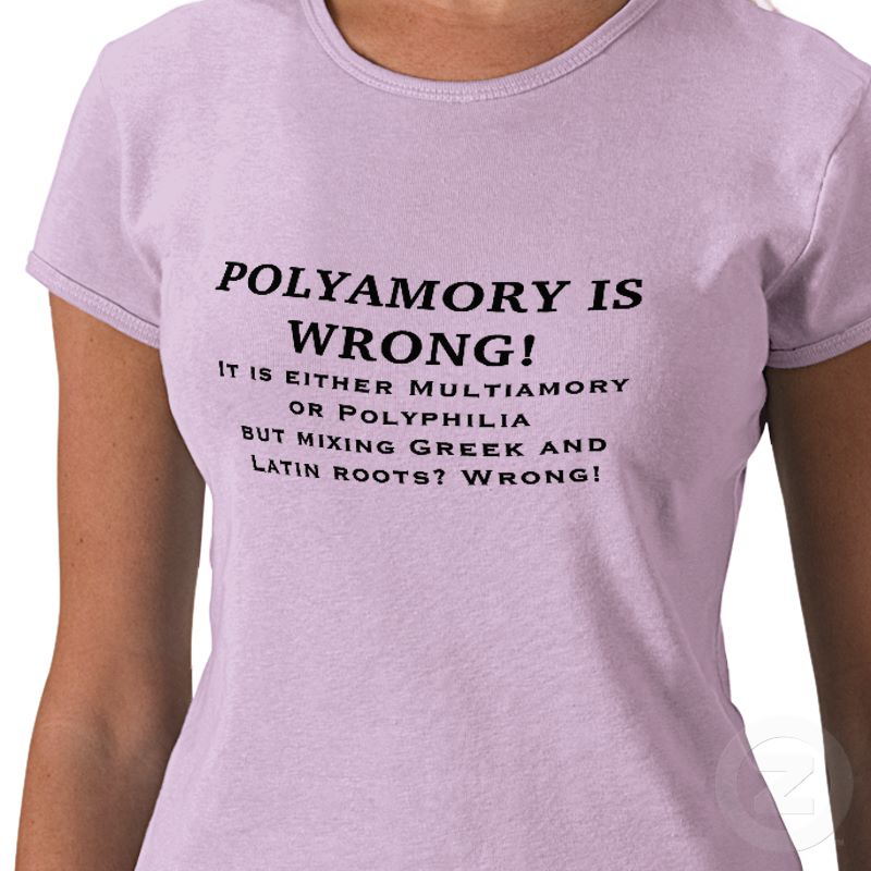 Polyamaory is Wrong