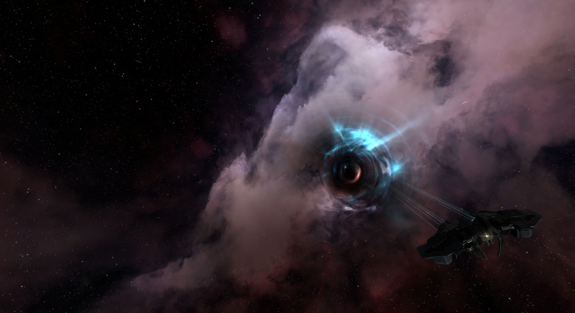 Wormhole-effects